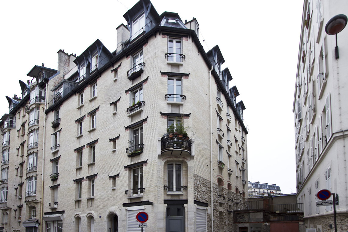 Apartment Paris Rue Lancret 14
