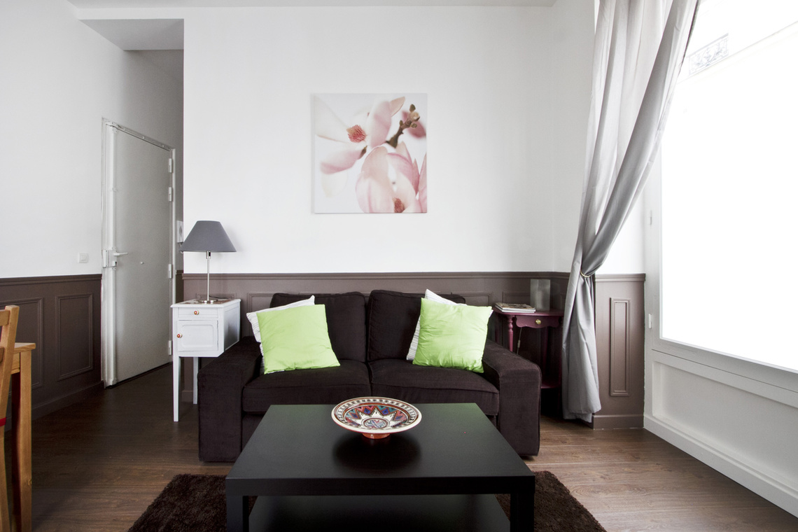 Furnished apartment for rent Paris Rue Lancret