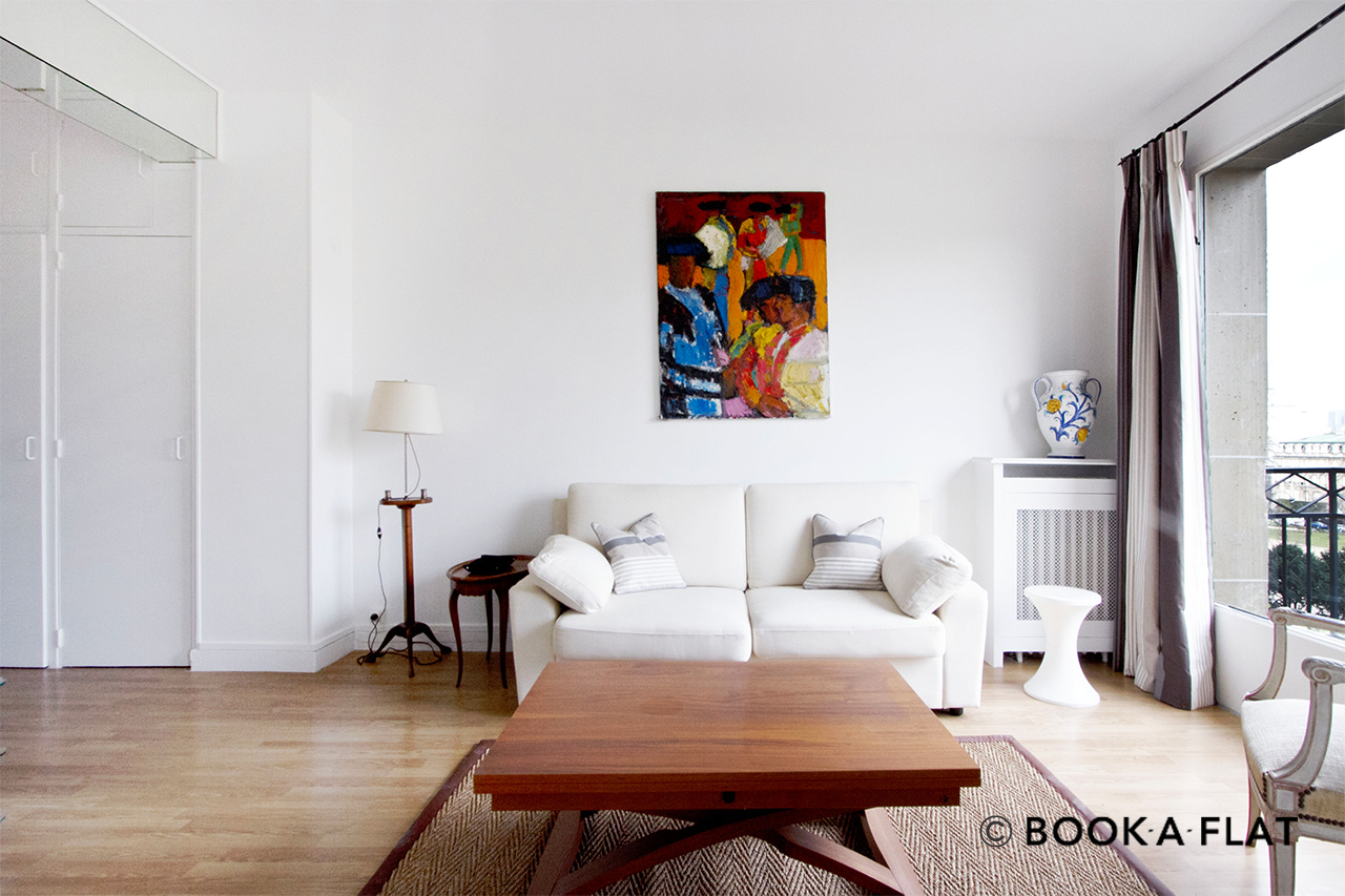 Furnished apartment for rent Paris Avenue Foch