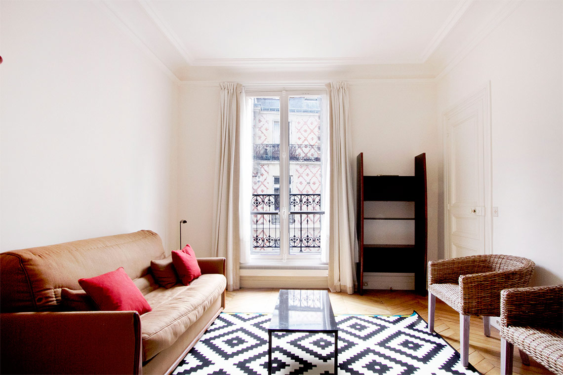 Furnished apartment for rent Paris Avenue Marceau