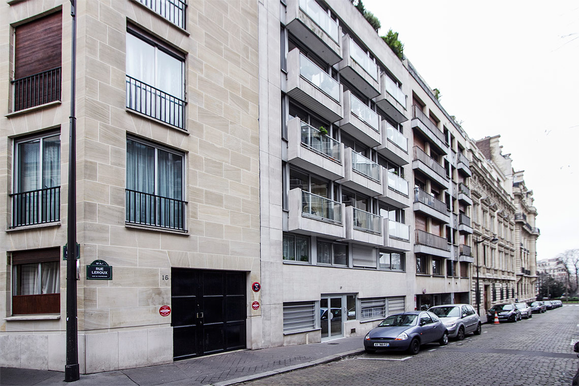 Appartement Paris Rue Leroux 11