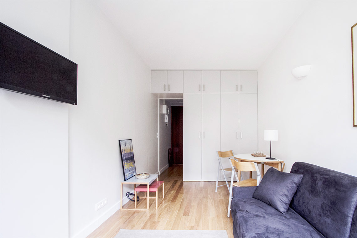 Appartement Paris Rue Leroux 5