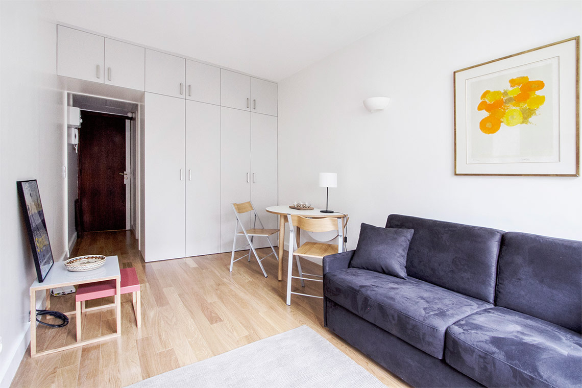 Apartment Paris Rue Leroux 3