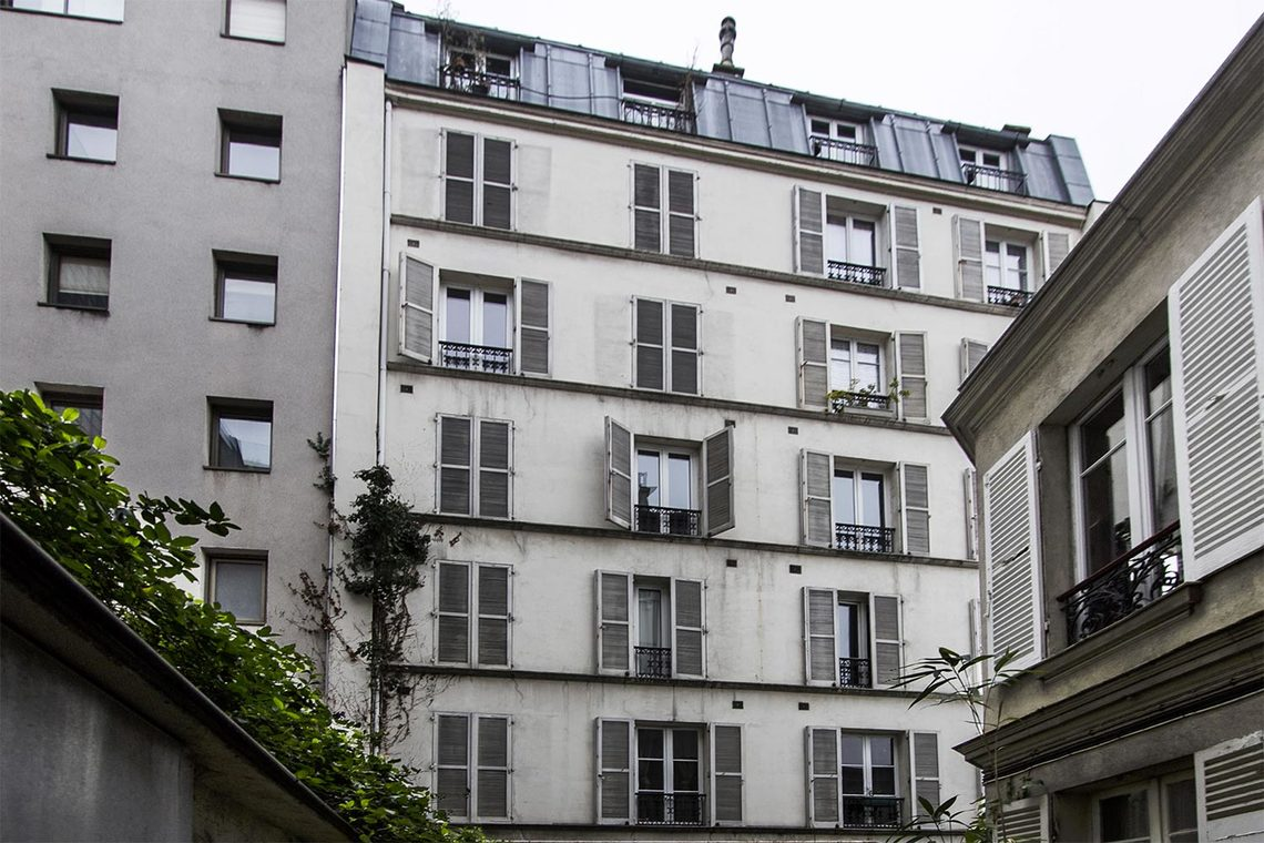 Квартира Paris Rue Buffon 12