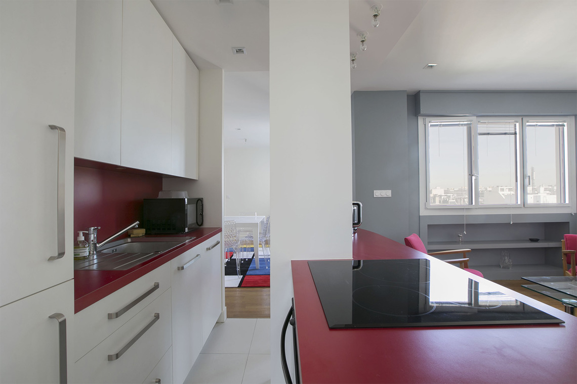 Apartment Paris Place Adolphe Cherioux 7