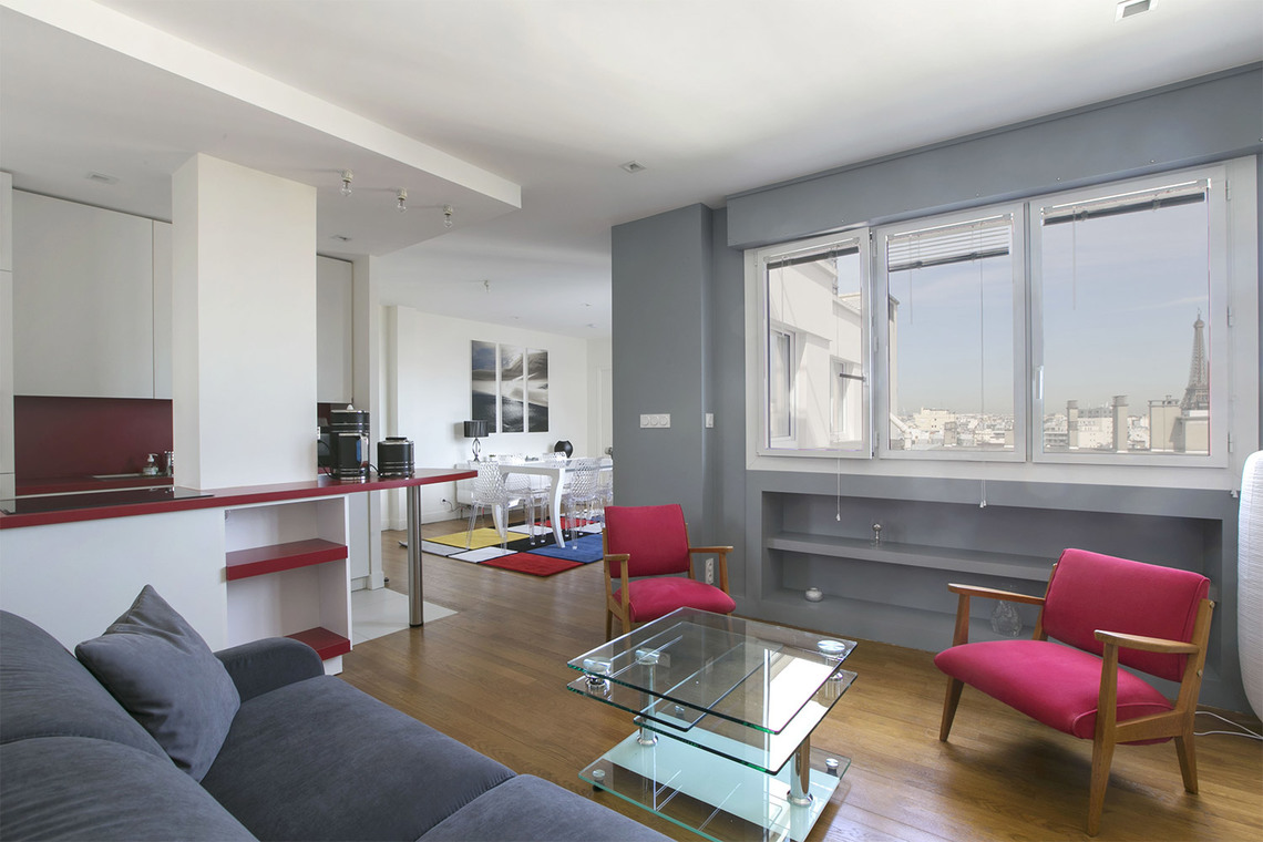 Furnished apartment for rent Paris Place Adolphe Cherioux