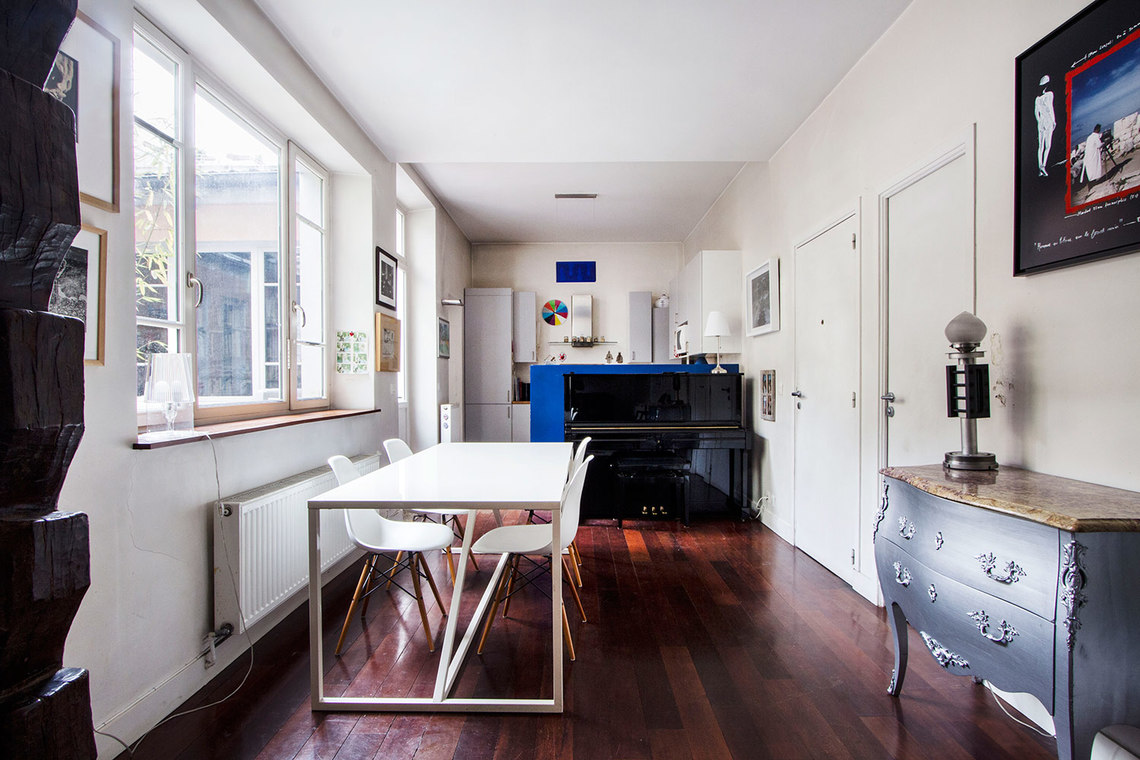 Appartement Paris Rue du Mont Cenis 4