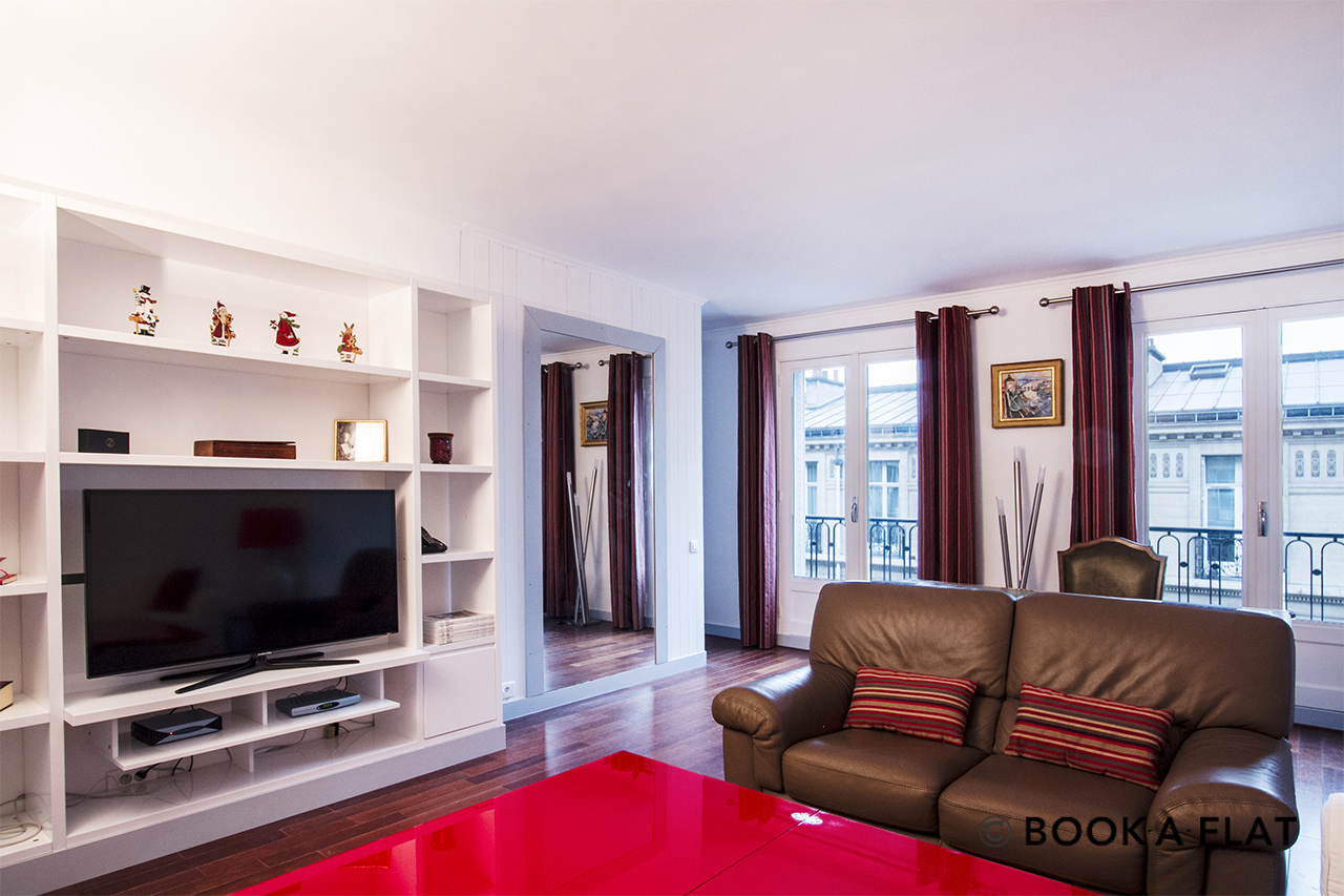 apartment for rent rue de marignan paris ref 8753. Black Bedroom Furniture Sets. Home Design Ideas
