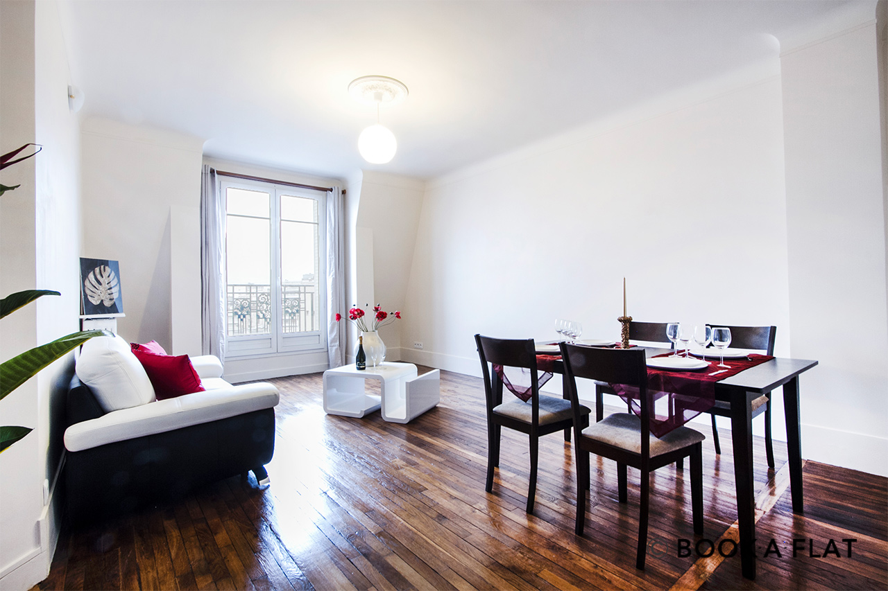 Furnished apartment for rent Paris Rue Michel-Ange