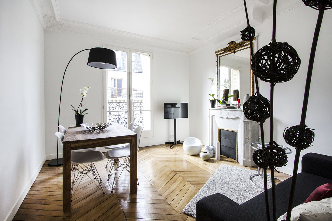 Apartment Paris Rue Lentonnet 2