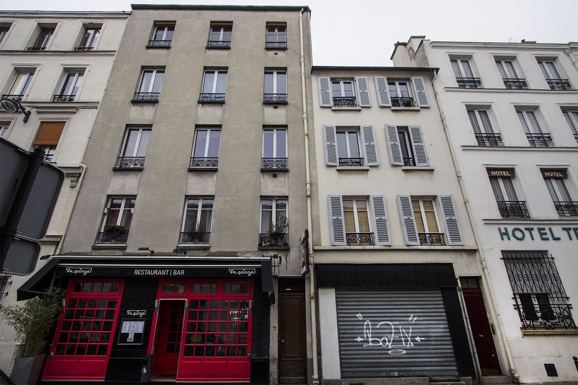 Appartement Paris Rue Roger 9