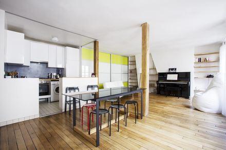 appartement meubl quartier notre dame de lorette paris. Black Bedroom Furniture Sets. Home Design Ideas