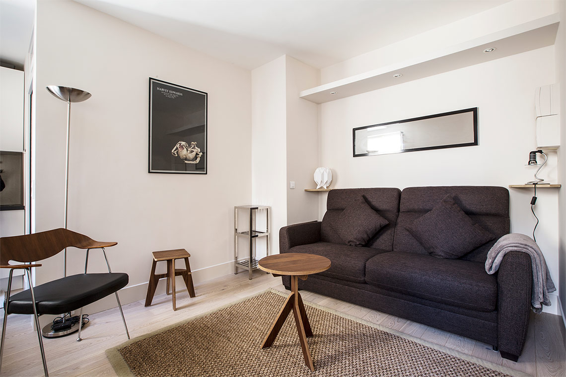 Furnished apartment for rent Paris Rue des Chantiers