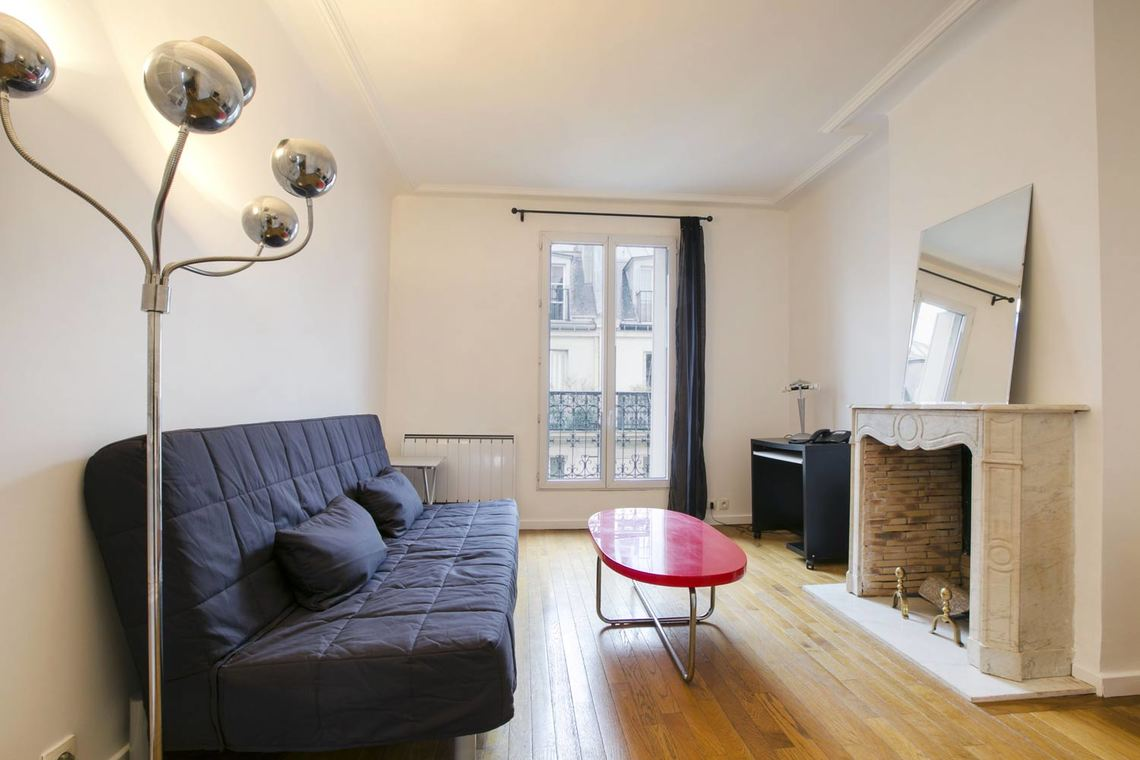 Furnished apartment for rent Paris Rue Flatters
