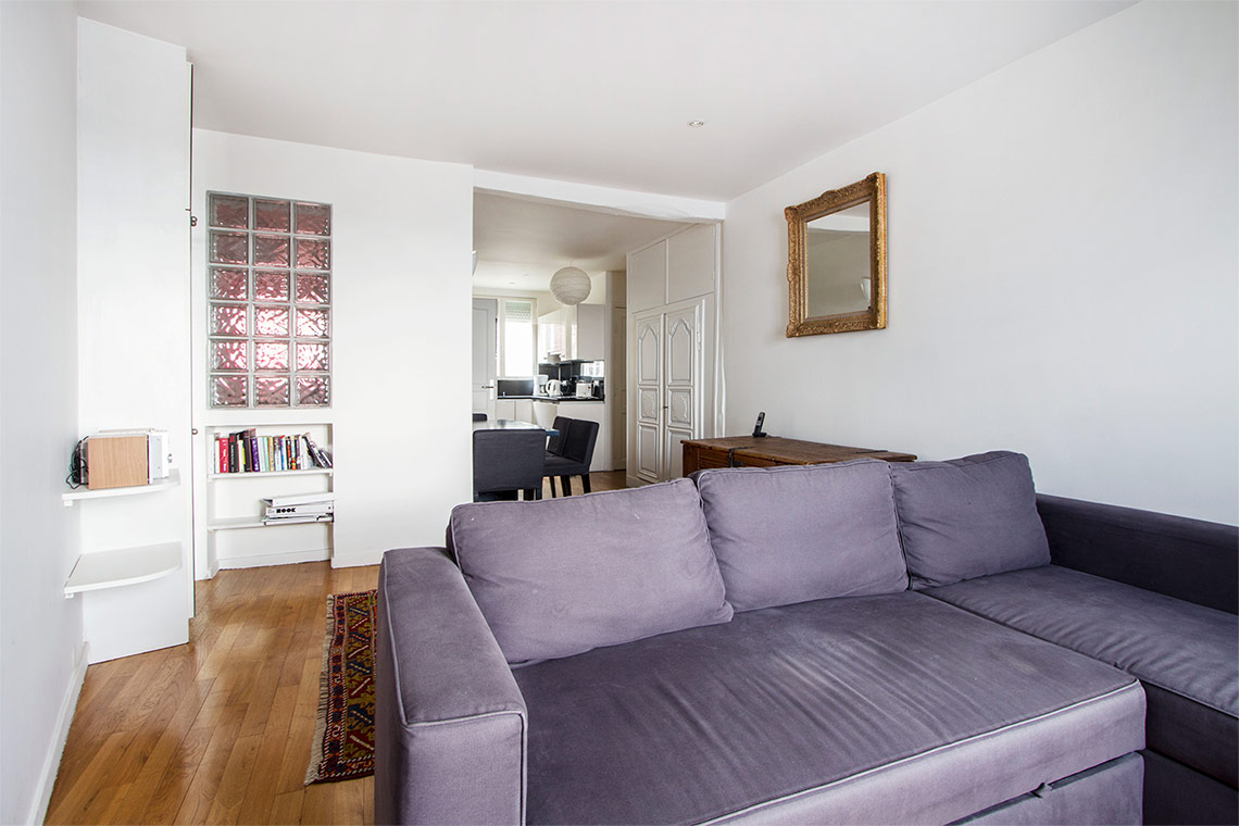 Furnished apartment for rent Paris Rue d'Orchampt