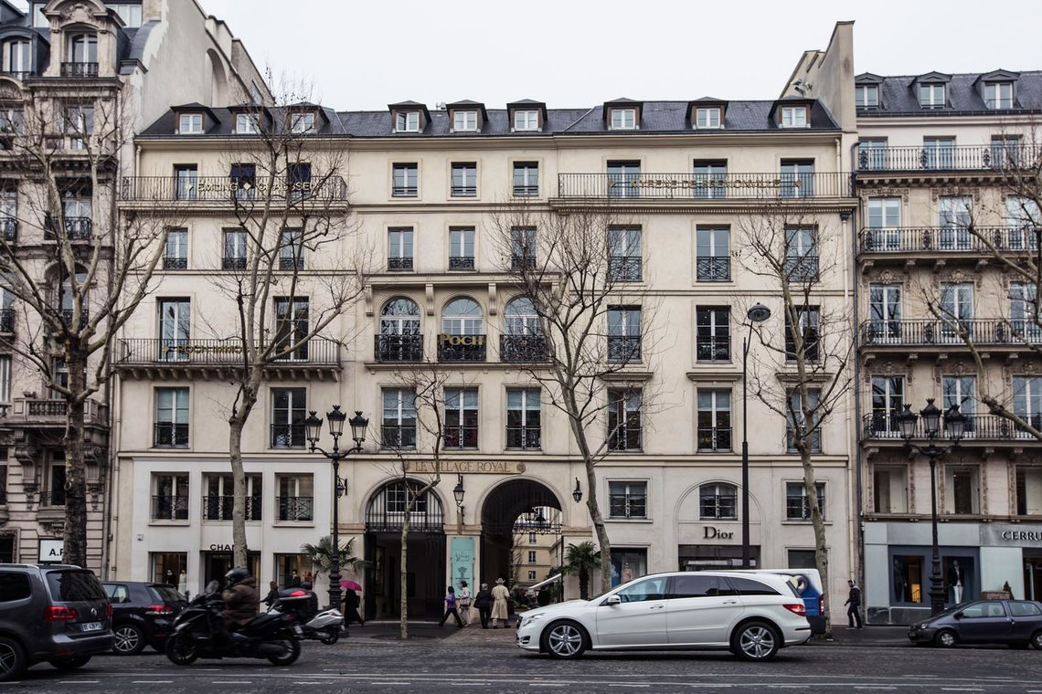 Apartment Paris Rue Royale 12