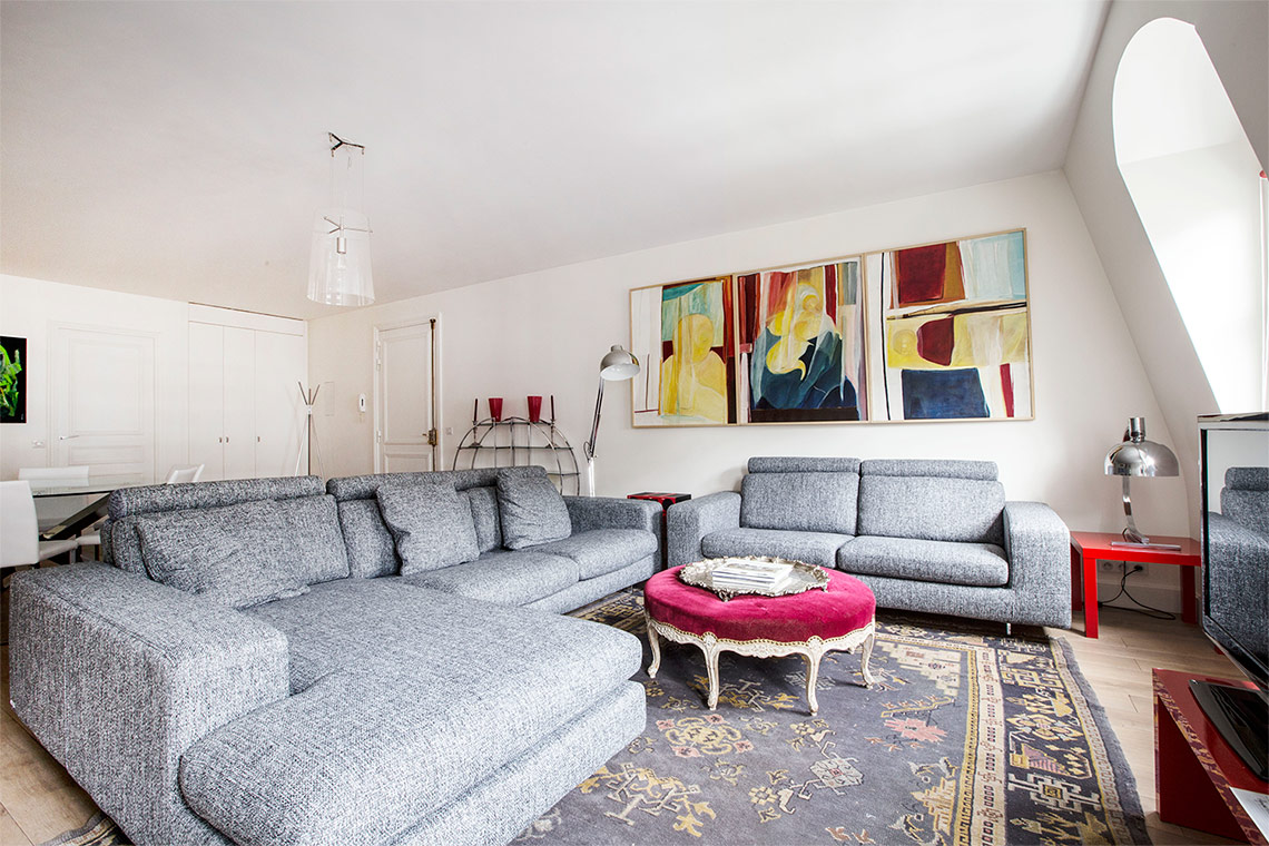 Furnished apartment for rent Paris Rue Saint Martin