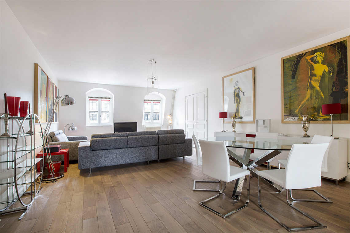 Apartment Paris Rue Saint Martin 3