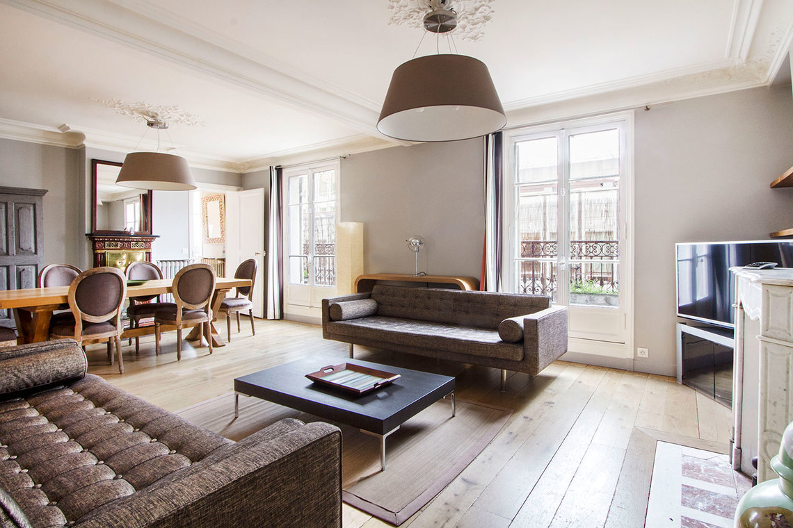 Furnished apartment for rent Paris Rue du Débarcadère