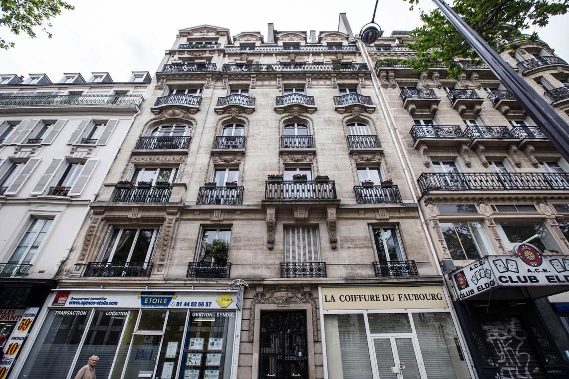 Apartment Paris Boulevard Saint Martin 14