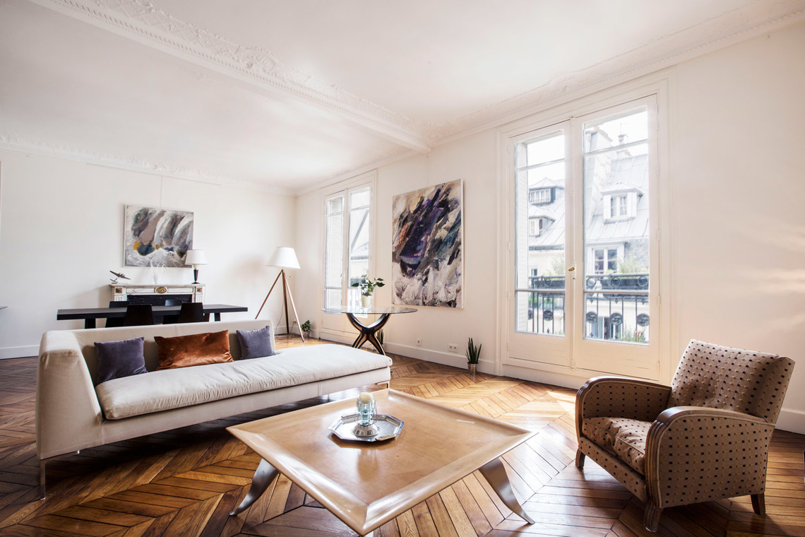 Furnished apartment for rent Paris Boulevard Saint Martin