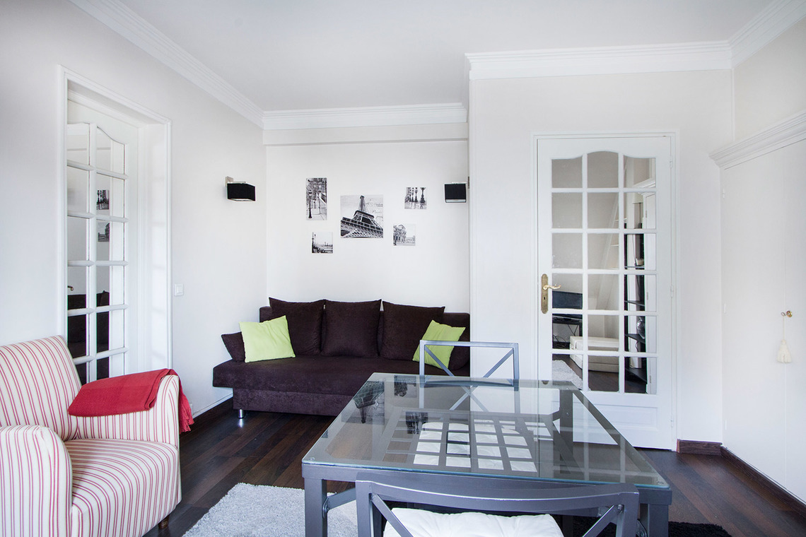 Appartement Paris Rue Balzac 3