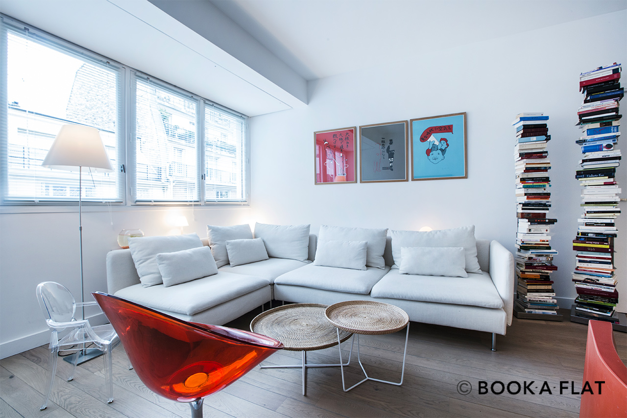 Furnished apartment for rent Paris Rue des Pâtures