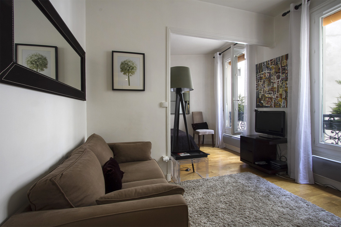 Appartement Paris Rue Pache 3