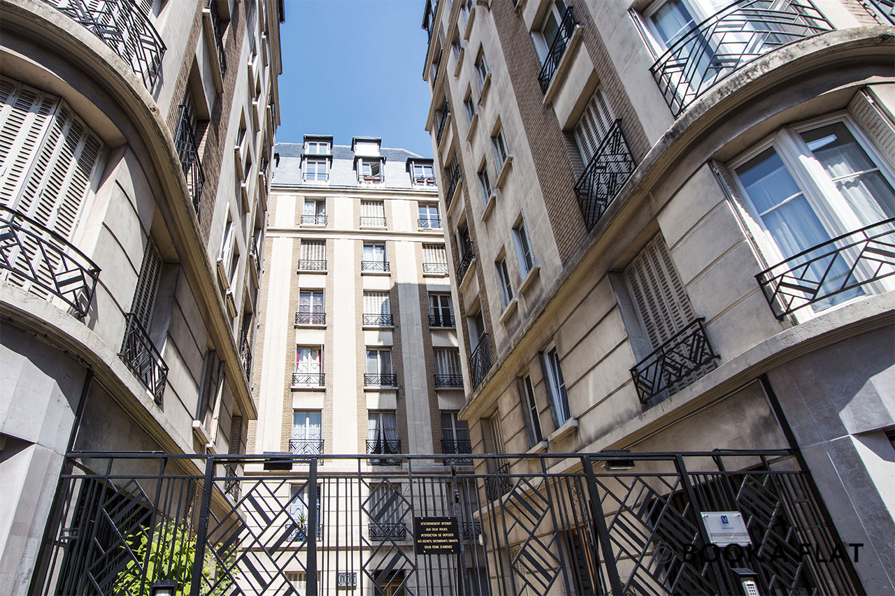 Appartement Paris Rue Clairaut 10
