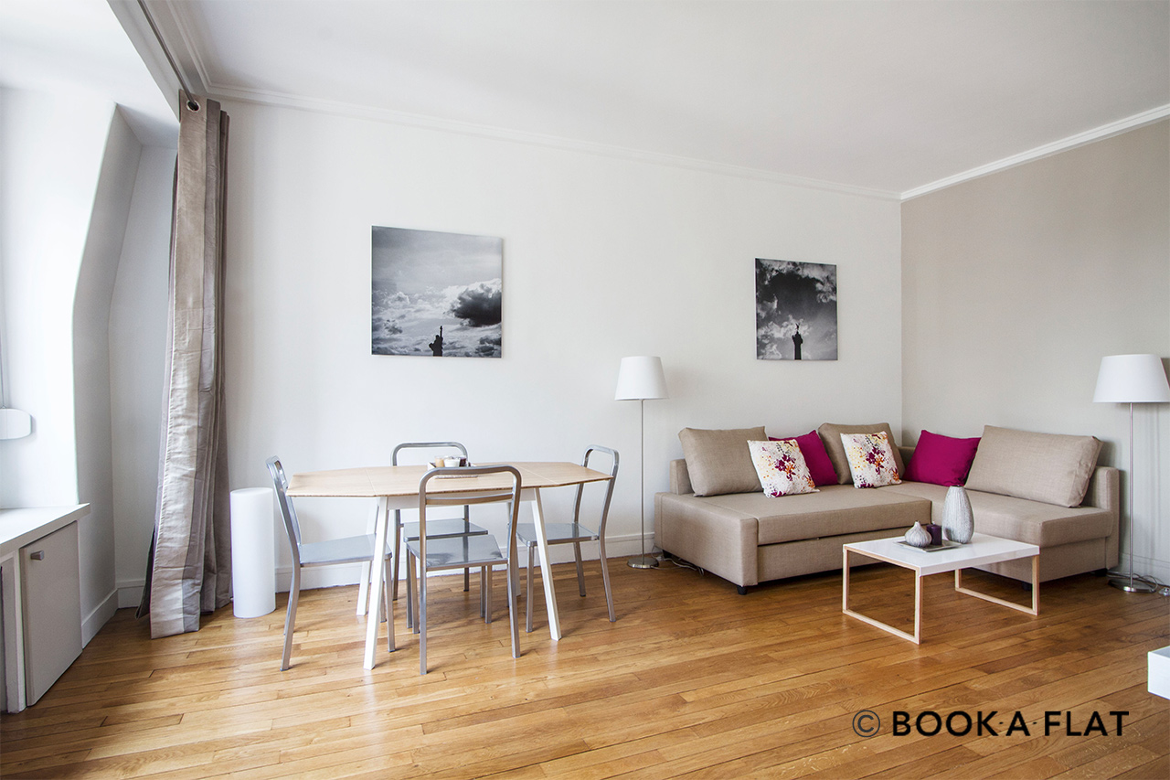 Appartement Paris Rue Clairaut 2