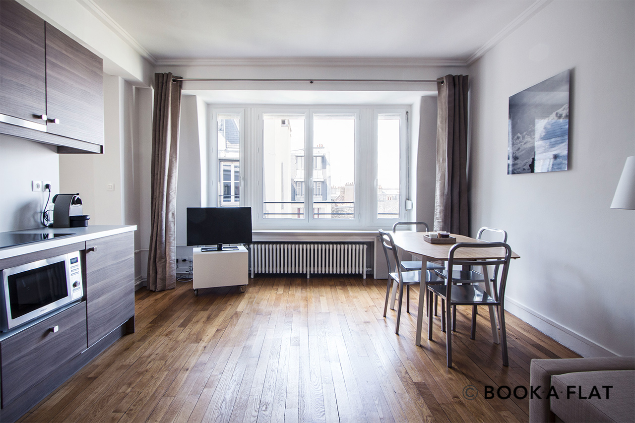 Appartement Paris Rue Clairaut 5
