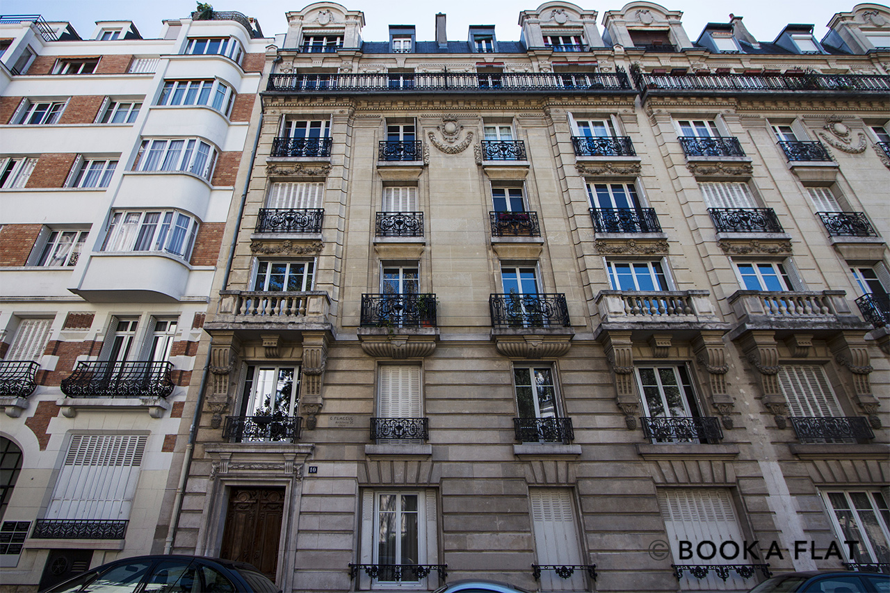Apartment Paris Rue Jaucourt 14
