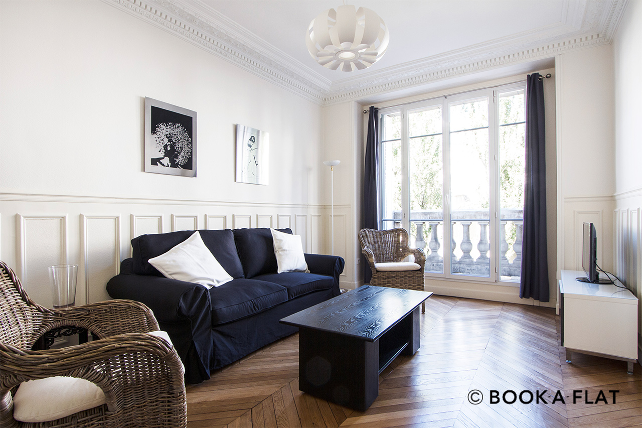 Furnished apartment for rent Paris Rue Jaucourt