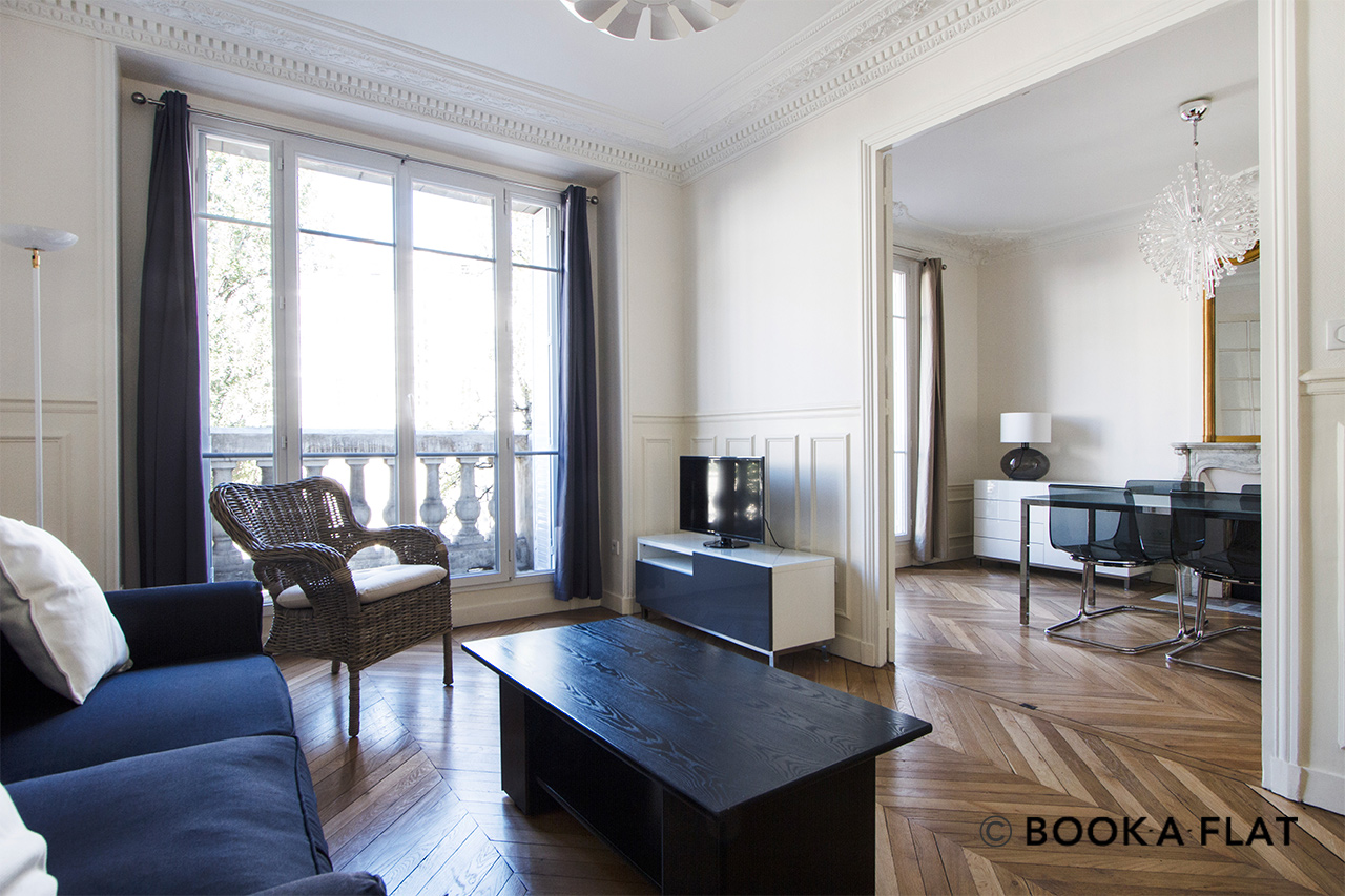 Paris Rue Jaucourt Apartment for rent