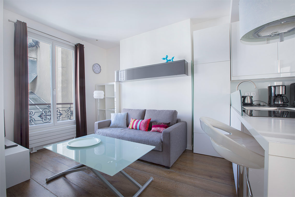 Furnished apartment for rent Paris Rue Jean-Pierre Timbaud