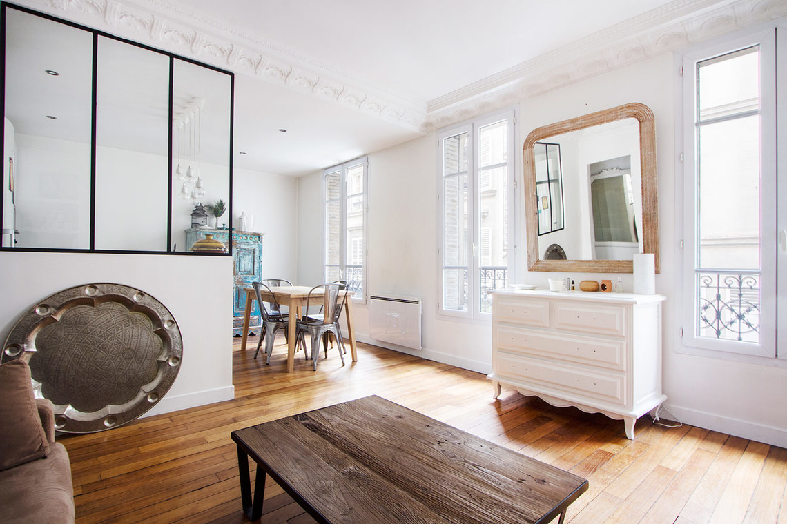 Paris Rue la Condamine Apartment for rent