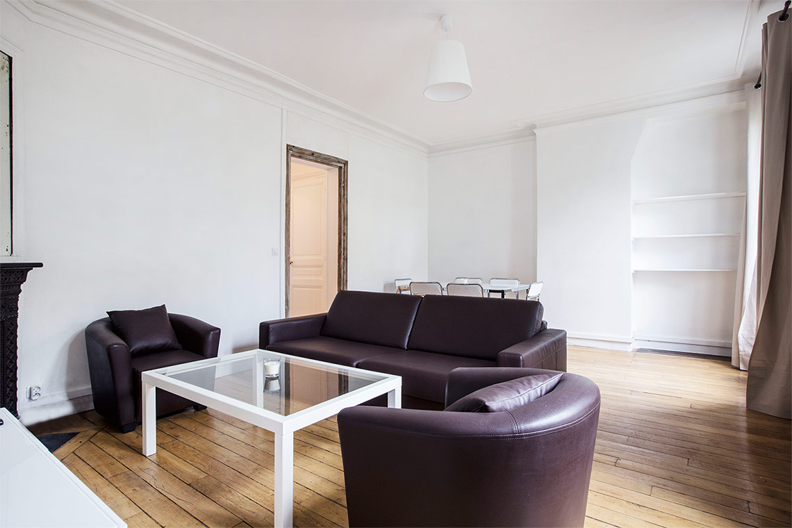 Appartement Paris Boulevard Raspail 9
