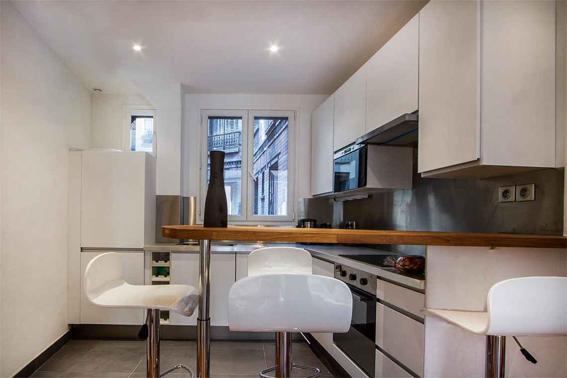 Appartement Paris Rue Lapeyrere  4