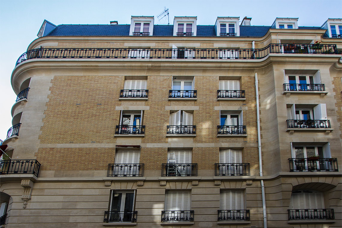 Appartement Paris Rue Lapeyrere  12