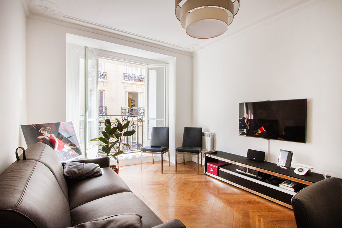 Appartement Paris Rue Lapeyrere  2