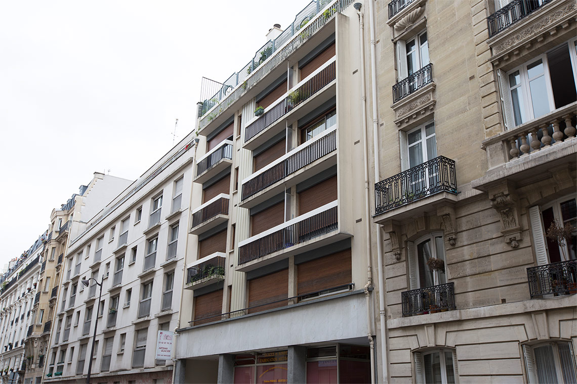 Appartamento Paris Rue Descombes 6