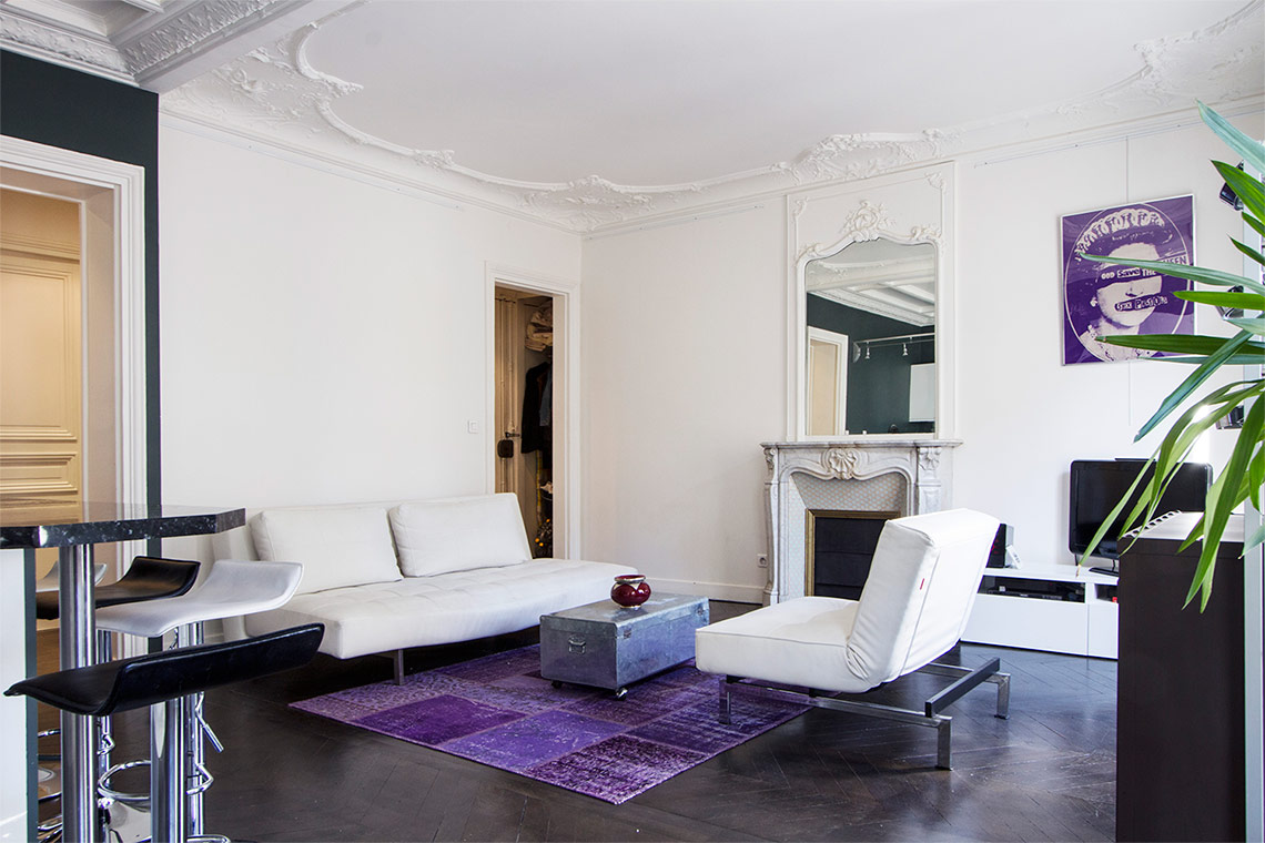 Appartement Paris Rue Cardinet 5