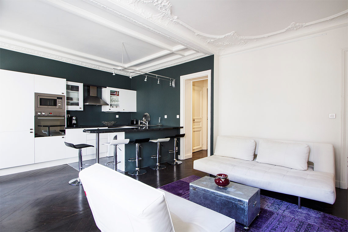 Appartement Paris Rue Cardinet 3