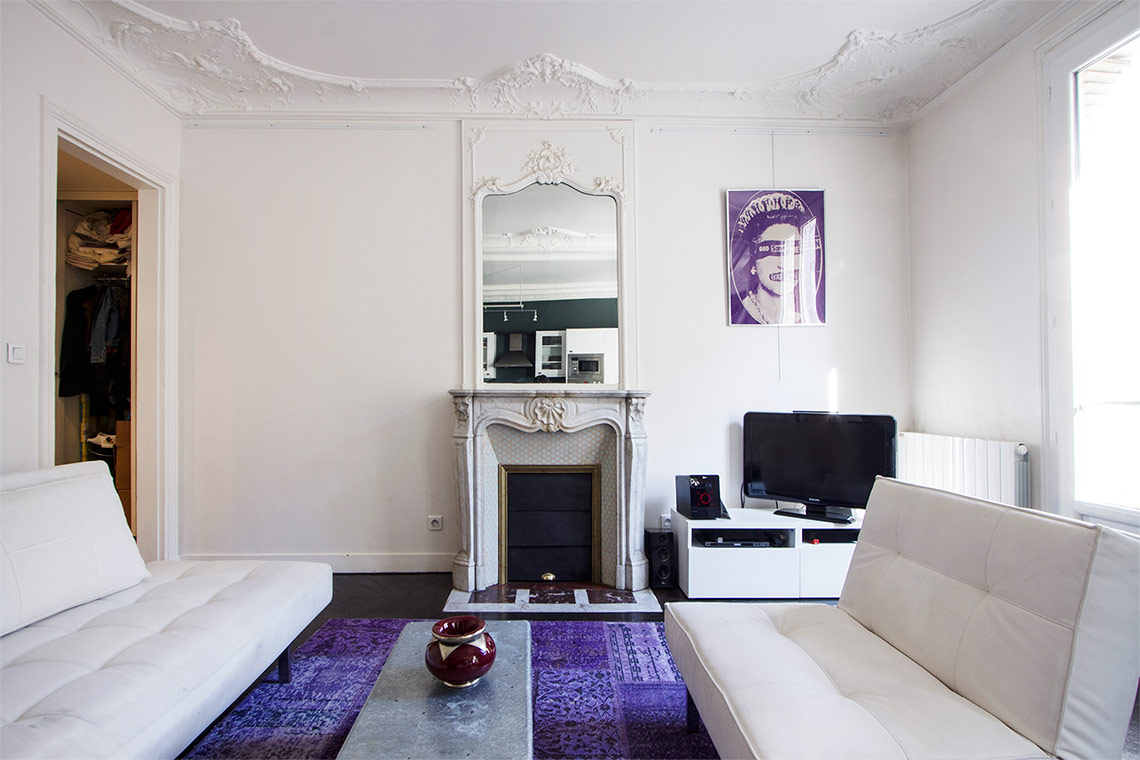 Appartement Paris Rue Cardinet 4