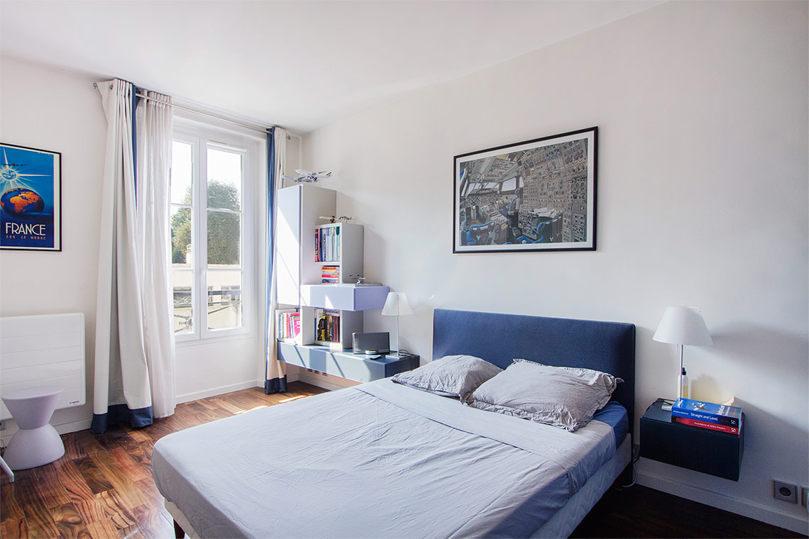 Furnished apartment for rent Paris Rue Campagne Première
