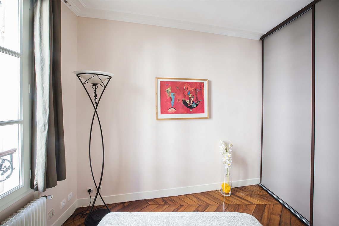 Appartement Paris Rue Boursault 8