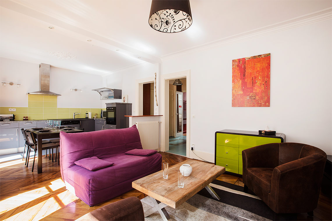 Appartement Paris Rue Boursault 2