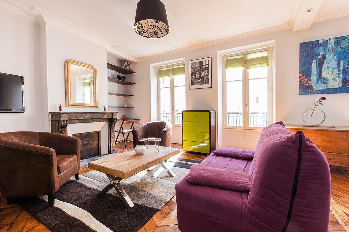 Appartement Paris Rue Boursault 4
