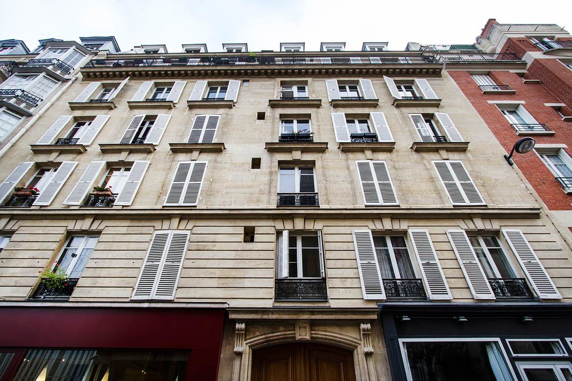 Appartement Paris Rue Saint Romain 11