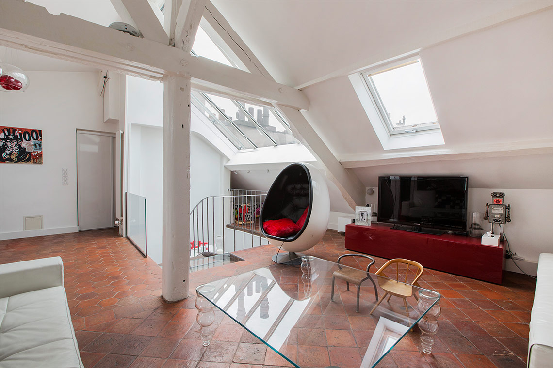Appartement Paris Rue du Roi de Sicile 11